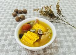 海椰皇玉米无花果土鸡汤
