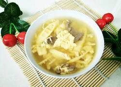 鲜笋猪肝鸡蛋汤