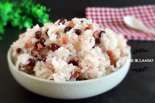 薏米红豆大米饭