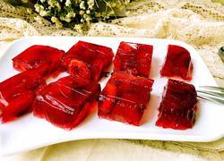 樱桃果肉冻