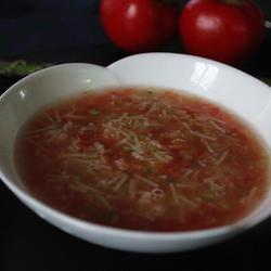 番茄芦笋虾仁面(宝宝辅食)
