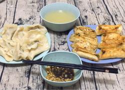 香葱猪肉水饺/锅贴