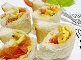 宝宝食谱之早餐篇 面包蛋卷的做法[图]