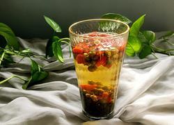 决明子菊花枸杞茶