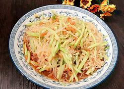 黄瓜粉丝拌海米
