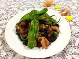 阳江豆鼓焖青椒肉的做法[图]