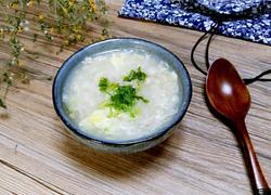 白玉菇疙瘩汤