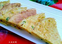 香煎土豆丝鸡蛋饼