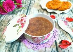 粘高粱米红豆粥