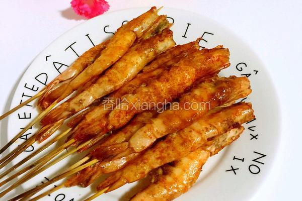孜然串串虾