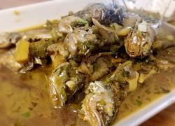 咸菜炖黄鱼