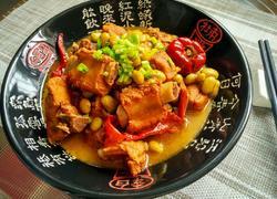 毛豆米烧排骨