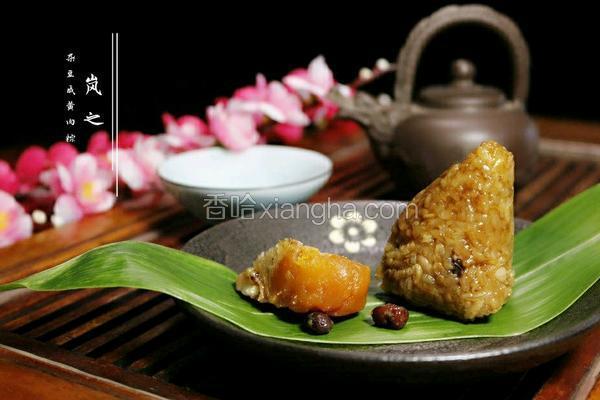 杂豆咸黄肉粽