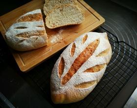 全麦培根面包