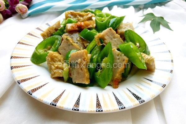 辣椒炒鲮鱼片