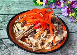 凉拌金针菇猪肚丝
