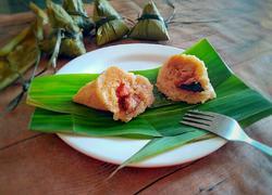 香菇咸蛋黄肉粽