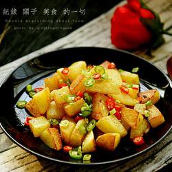 脆皮锅巴土豆