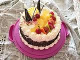 自制水果生日蛋糕的做法[图]