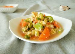 蔬菜豆腐泥
