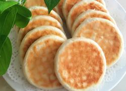 红豆沙油酥烧饼