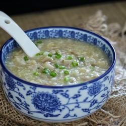 平菇二米粥