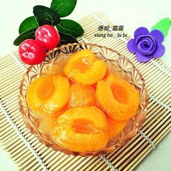冰糖杏子罐头
