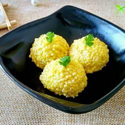 香甜大黄米饭