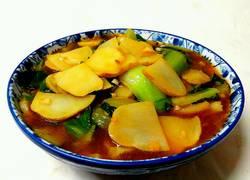 土豆烧油菜
