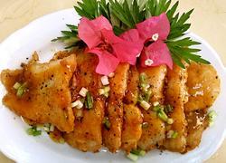 日式黑椒巴沙鱼柳