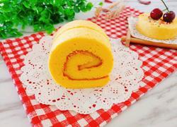 卡仕达酱蛋糕卷