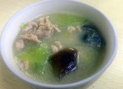 青瓜皮蛋瘦肉汤