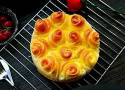 浪漫情怀必做的玫瑰花面包