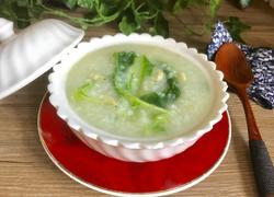 白菜虾米粥