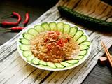 凉拌麻汁黄瓜的做法[图]