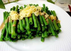 麻将蒜泥拌豇豆#年夜饭