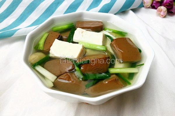 猪红豆腐汤
