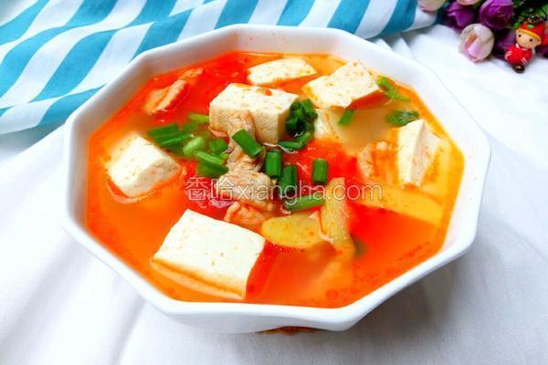 瘦肉番茄豆腐汤