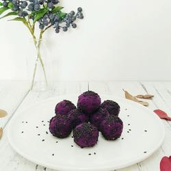 紫薯奶酪球
