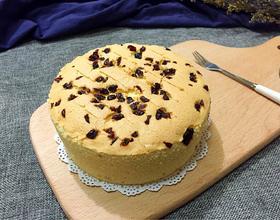 蔓越莓戚风蛋糕(六寸)