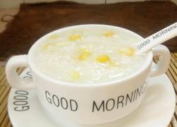玉米蛋花粥