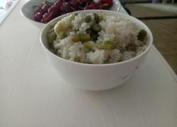 四季豆焖饭