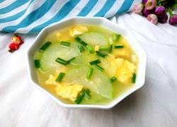 节瓜鸡蛋汤