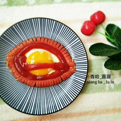 大红唇煎蛋