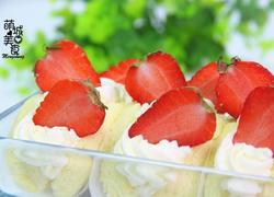 风靡韩国的草莓蛋糕卷