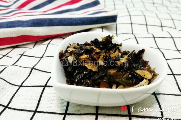 虾米白糖烤紫菜