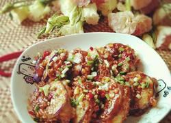 鱼香土豆泥茄盒
