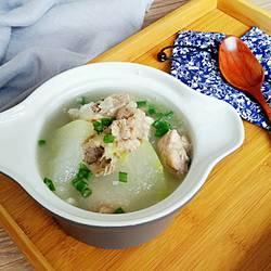 冬瓜猪骨汤的做法[图]