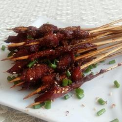 竹签烤肉串(烤箱版)