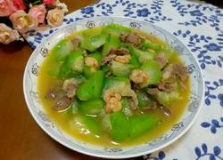 虾仁瘦肉炒丝瓜